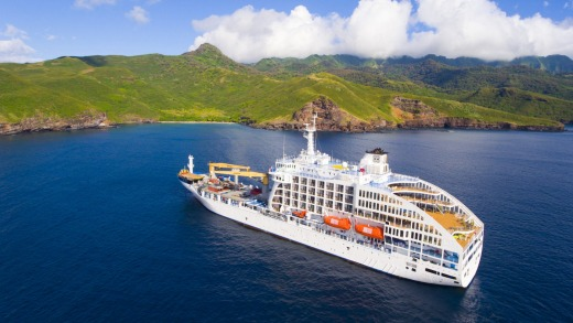 The company's existing ship, Aranui 5, is a mixed cargo and passenger transport.