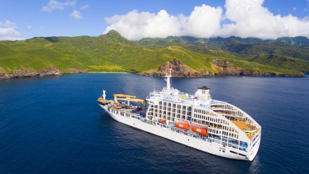 Aranui 5 visits the Marquesas Islands every three weeks.