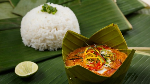 Amok is a culinary tradition in Cambodia.