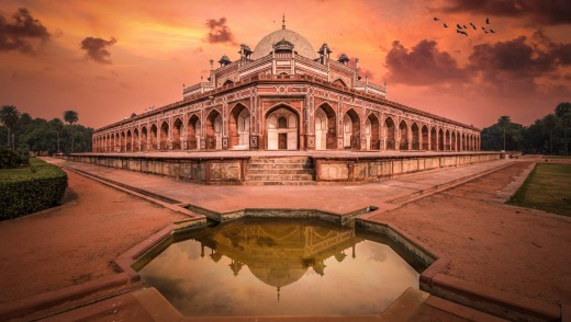 The Indian capital Delhi is a vast metropolis with incredible monuments such as Humayun's Tomb.