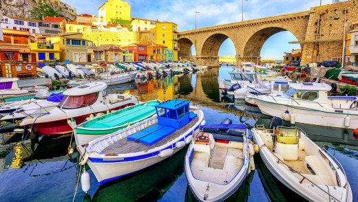 Paris might get all the kudos but vibrant Marseille, pictured, has plenty going for it.