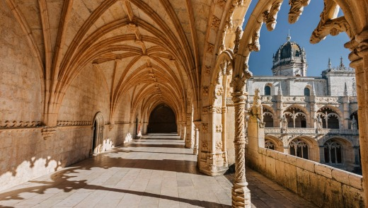 The Jeronimos Monastery is just one of the architectural splendours of Lisbon, Portugal.