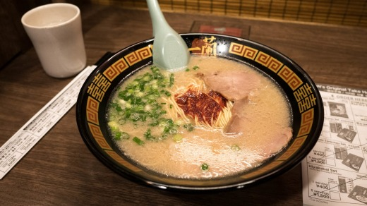 Ichiran Ramen chain in Fukuoka at Hakata railway station.