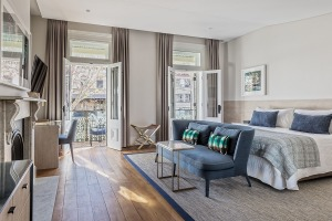 Spicers Potts Point occupies three converted terrace houses in the heart of central Sydney.
