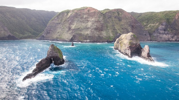 Hawaiian royalty enjoyed an idyllic existence here at Waipio Valley, Hawaii in ancient times.