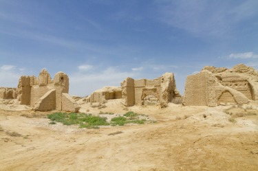 MERV, TURKMENISTAN. In the parched wasteland of Turkmenistan's Karakum Desert, Merv was one of the great cities of the ...