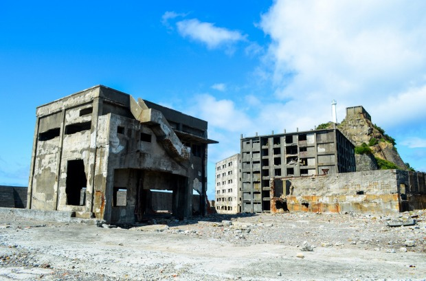 HASHIMA ISLAND, JAPAN Just a short distance south-west of Nagasaki, this was the base for an undersea coal mine before ...