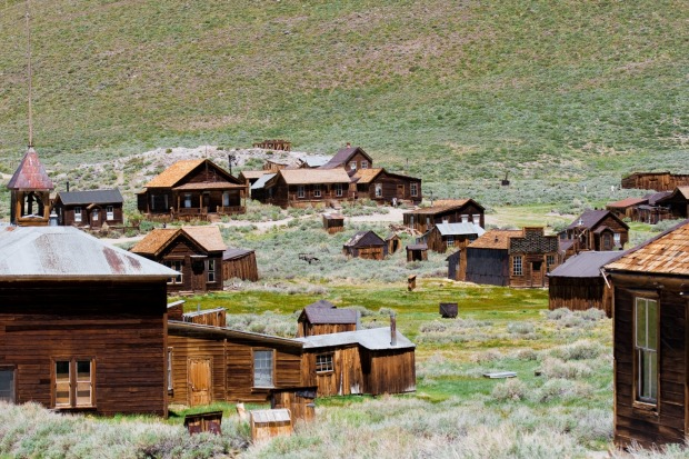 BODIE, CALIFORNIA, USA. This was once a rootin', tootin', bare-knuckle gold mining boomtown with a population of 10,000. ...