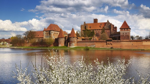 Malbork Castle was only saved from demolition in the 19th century when sketches of it were exhibited in Berlin.