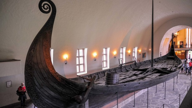 Viking Ship Museum of Bygdoy, Oslo, Norway.