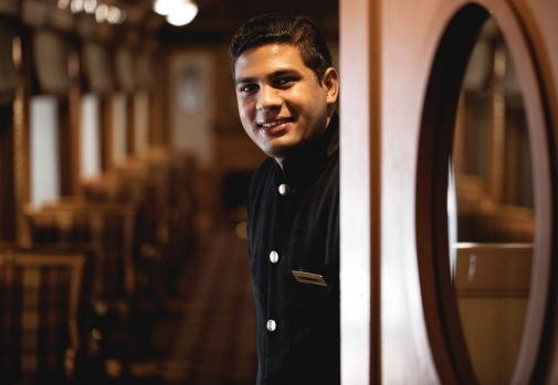 Deccan Odyssey luxury train in India. Images supplied by APT and only to be used with APT stories.