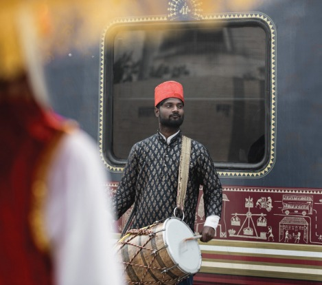The Deccan Odyssey travels from Mumbai on the west coast up to Delhi in the north.