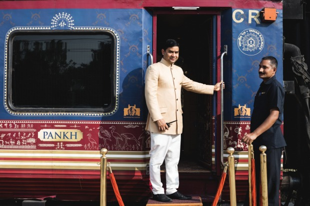 The Deccan Odyssey is a luxury train inspired by the imperial carriages used by the Maharajahs.