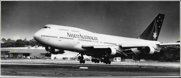 Now defunct Australian airline Ansett received its fist 747 in 1994.