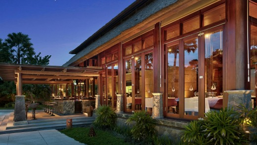 The restaurant at Amarterra Villas Bali Nusa Dua.