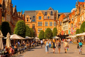 The Flemish town of Leuven is Belgium's beer and student capital.