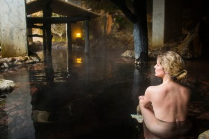 A public onsen in Kyushu. There are more than 2000 in Japan.