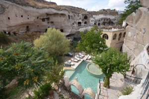 SunFeb17Ten - Traveller 10 Best cave hotels - Michael Gebicki GAMIRASU CAVE HOTEL, AYVALI, TURKEY Image supplied