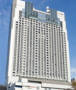 The Swissotel Nankai is right in the heart of Osaka's bustling Minami area.