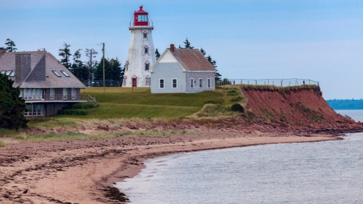Canada's Prince Edward Island is the setting for the famous <i>Anne of Green Gables</i> children's books.