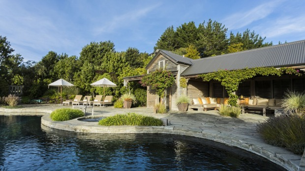 The Farm at Cape Kidnappers SatFeb23Six - SIX OF THE BEST NZ North Island Lodges - Brian Johnston Image supplied via ...