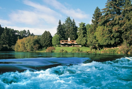 Huka Lodge SatFeb23Six - SIX OF THE BEST NZ North Island Lodges - Brian Johnston Image supplied via journalist for use ...