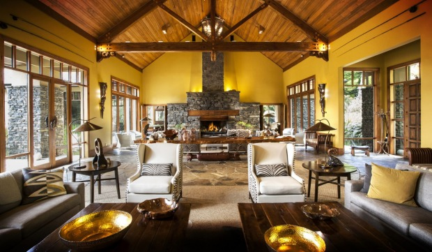 TREETOPS LODGE  Hidden high in a valley outside Rotorua, the main lodge at Treetops looks as if it was built for giants, ...