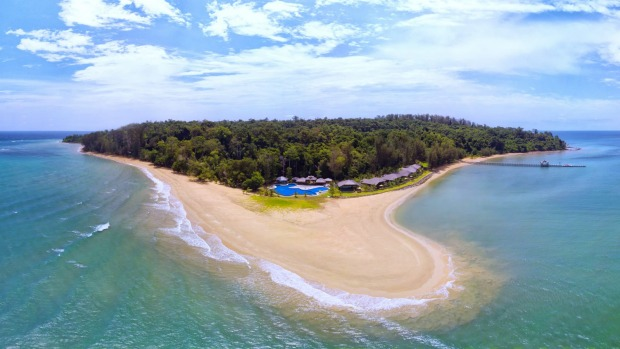 Isolated tranquility: The Borneo Eagle Resort .