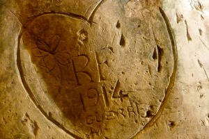 This pictorial love letter to France expresses the fighting spirit of the person who carved it.