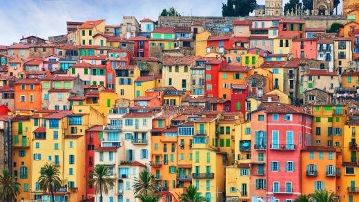 France ends in a burst of beauty at Menton.