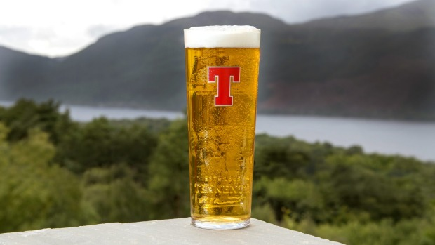 Tennents is just as popular in its hometown as it is internationally.
