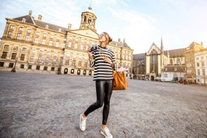 Amsterdam is a city that's well-suited for solo travellers.