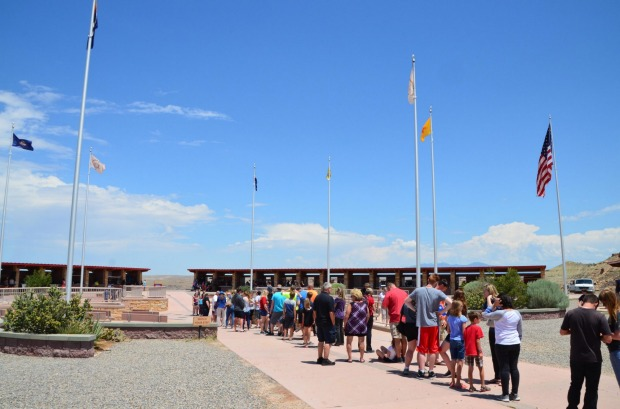 The Four Corners Monument: A regular inclusion on road trip itineraries heading through the American West, the Four ...
