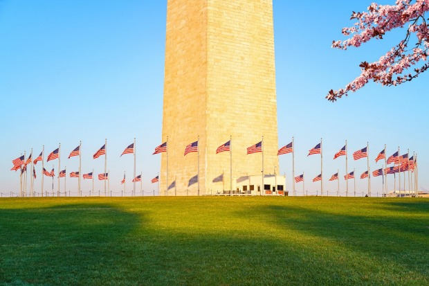 The Washington Monument, DC: But standing tall in the middle is a giant obelisk that, since an earthquake in 2011, you ...