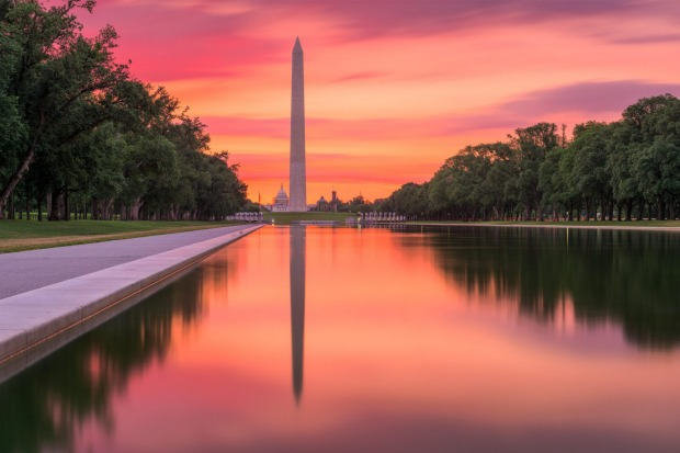 The Washington Monument, Washington DC: The National Mall in Washington is incredible. There's the Capitol at one end, ...