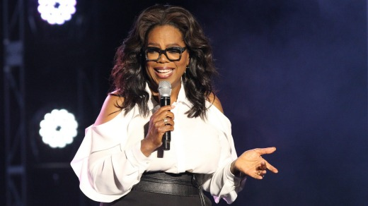 Oprah Winfrey is the latest in a long line of famous godmothers to christen a HAL ship.