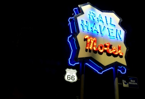 RAIL HAVEN MOTEL, MISSOURI: Built on an L-shaped complex, this 92-room motel may have been remodelled but still captures ...