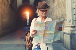The advent of smartphones means few travellers today use big paper maps that require folding.