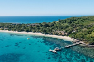 Kokomo Private Island: The resort sits on its own private island 45 minutes flying time south of Nadi.