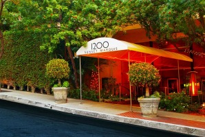 Rock revelry rules at the Sunset Marquis hotel.