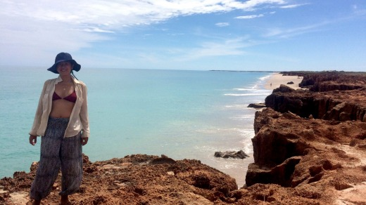 The author at the Lurujarri Trail, north of Broome, WA.