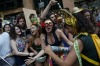 "Revelers enjoy the ""Ceu na Terra"" or Heaven on Earth street party in Rio de Janeiro, Brazil. Much of the appeal of Rio ..."