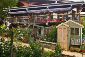 The community-run Ouseburn Farm in the heart of Newcastle upon Tyne.