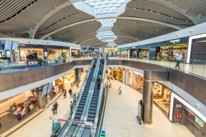 Leonardo Da Vinci-Fiumicino, Rome, offers a private guide to help you navigate the sprawling duty-free mall in the ...