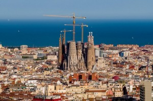 Sagrada Familia cathedral will be completed in 2026.