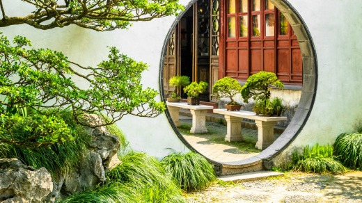 Classical gardens are a highlight in the city of Suzhou.