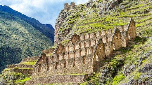 Peru's Sacred Valley extends along the Urubamba River from Machu Picchu to Pisac.