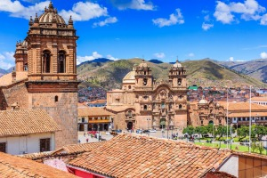 Cusco, the historic capital of the Inca Empire.