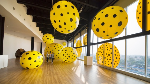 The contemporary exhibition space at Museum MACAN punches above its weight in terms of local and international art.