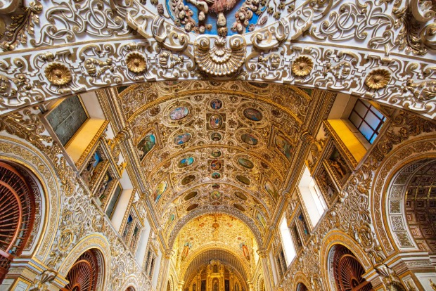 COUNT YOUR BLESSINGS  The most beautiful church in Oaxaca – Templo de Santo Domingo de Guzman, to give it its full title ...